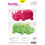 Flodhäst och noshörning